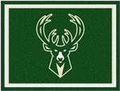 Fan Mats NBA Milwaukee Bucks 8x10 Rug