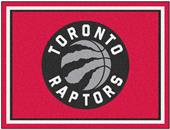 Fan Mats NBA Toronto Raptors 8x10 Rug