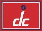 Fan Mats NBA Washington Wizards 8x10 Rug