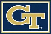 Fan Mats NCAA Georgia Tech 8x10 Rug