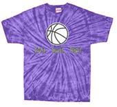 Tandem Basketball Live It Tie Dye T-Shirt - C/O