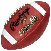 Rawlings Leather ST5 Michigan Official Football CO