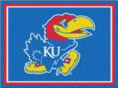 Fan Mats NCAA University of Kansas 8x10 Rug