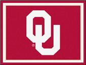 Fan Mats NCAA University of Oklahoma 8x10 Rug