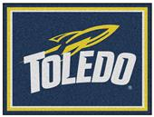 Fan Mats NCAA University of Toledo 8x10 Rug