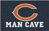 Fan Mats Chicago Bears Man Cave Ulti-Mat