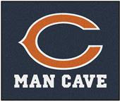 Fan Mats Chicago Bears Man Cave Tailgater Mat