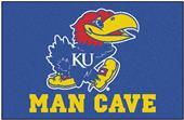 Fan Mats University of Kansas Man Cave Starter Mat