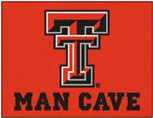 Fan Mats Texas Tech Univ. Man Cave All-Star Mat