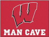 Fan Mats Univ. of Wisconsin Man Cave All-Star Mat