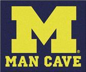 Fan Mats Univ. of Michigan Man Cave Tailgater Mat