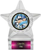 """Hasty Awards 6"""" Star Ice Bust-Out Swimming Trophy"""
