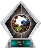 PR1 Football Black Diamond Ice Trophy