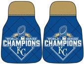 KC Royals World Series Champions Car Mats (set)