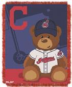 Northwest MLB Cleveland Indian Field Baby Throw