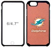 Dolphins Football Pebble Feel iPhone 6/6 Plus Case
