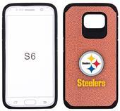 Steelers Football Pebble Feel GalaxyS6/S6Edge Case