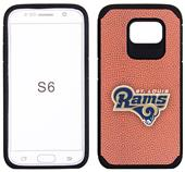 Rams Football Pebble Feel Galaxy S6/S6 Edge Case