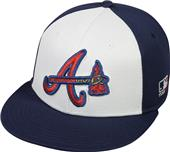 OC Sports MLB Atlanta Braves Colorblock Cap