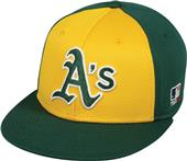 OC Sports MLB Oakland Athletics Colorblock Cap