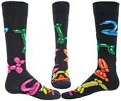 Red Lion Balloon Animals Over-The-Calf Socks CO