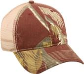 OC Sports Realtree Canvas Camo Mesh Ball Cap