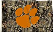 Collegiate Clemson Realtree Camo 3' x 5' Flags