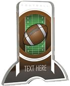 "6"" Legacy TRUacrylic Football 3/4"" Thick Trophy"