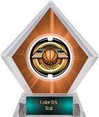 Awards Saturn Basketball Orange Diamond Ice Trophy