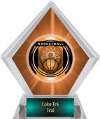 Awards Legacy Basketball Orange Diamond Ice Trophy