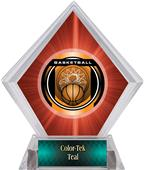 Awards Legacy Basketball Red Diamond Ice Trophy