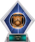 Awards Legacy Basketball Blue Diamond Ice Trophy