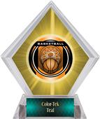 Awards Legacy Basketball Yellow Diamond Ice Trophy