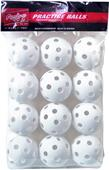 "Rawlings 9"" Plastic Training Baseballs (12 PK)"