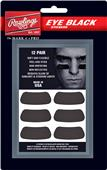 Rawlings Baseball Eye Black Stickers (12 pair)