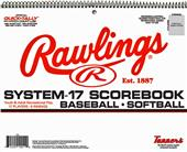 Rawlings System-17 Baseball/Softball Scorebook