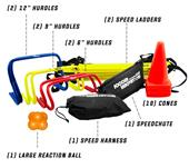 Soccer Innovation Deluxe Speed & Agility Train Set
