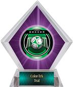 Awards Legacy Soccer Purple Diamond Ice Trophy
