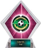 Awards Saturn Soccer Pink Diamond Ice Trophy