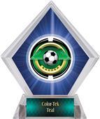 Awards Saturn Soccer Blue Diamond Ice Trophy