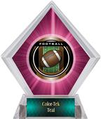 Awards Legacy Football Pink Diamond Ice Trophy