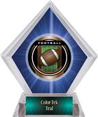 Awards Legacy Football Blue Diamond Ice Trophy