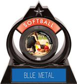 "Hasty Awards Eclipse 6"" P.R.2 Softball Trophy"