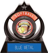 "Hasty Awards Eclipse 6"" ProSport Softball Trophy"