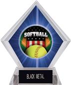 Awards Patriot Softball Blue Diamond Ice Trophy
