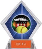 Awards Patriot Softball Blue Diamond Ice Trophy