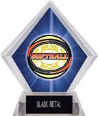 Awards Classic Softball Blue Diamond Ice Trophy