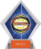 Awards Classic Softball Blue Diamond Ice Trophy