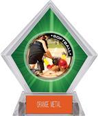 Awards P.R.2 Softball Green Diamond Ice Trophy