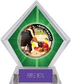 Awards P.R.2 Softball Green Diamond Ice Trophy